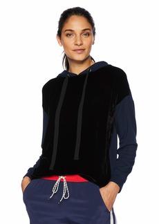 Velvet by Graham & Spencer Women's Carol Velvet/Fleece Sweatshirt  S
