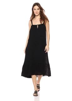 Velvet by Graham & Spencer Women's Celinda Soft Cotton Gauze Dress  L