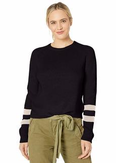 Velvet by Graham & Spencer Women's Chasen Engineered Stitches Sweater  XS