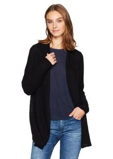 Velvet by Graham & Spencer Women's Cotton Crochet No Closure Cardigan  XS
