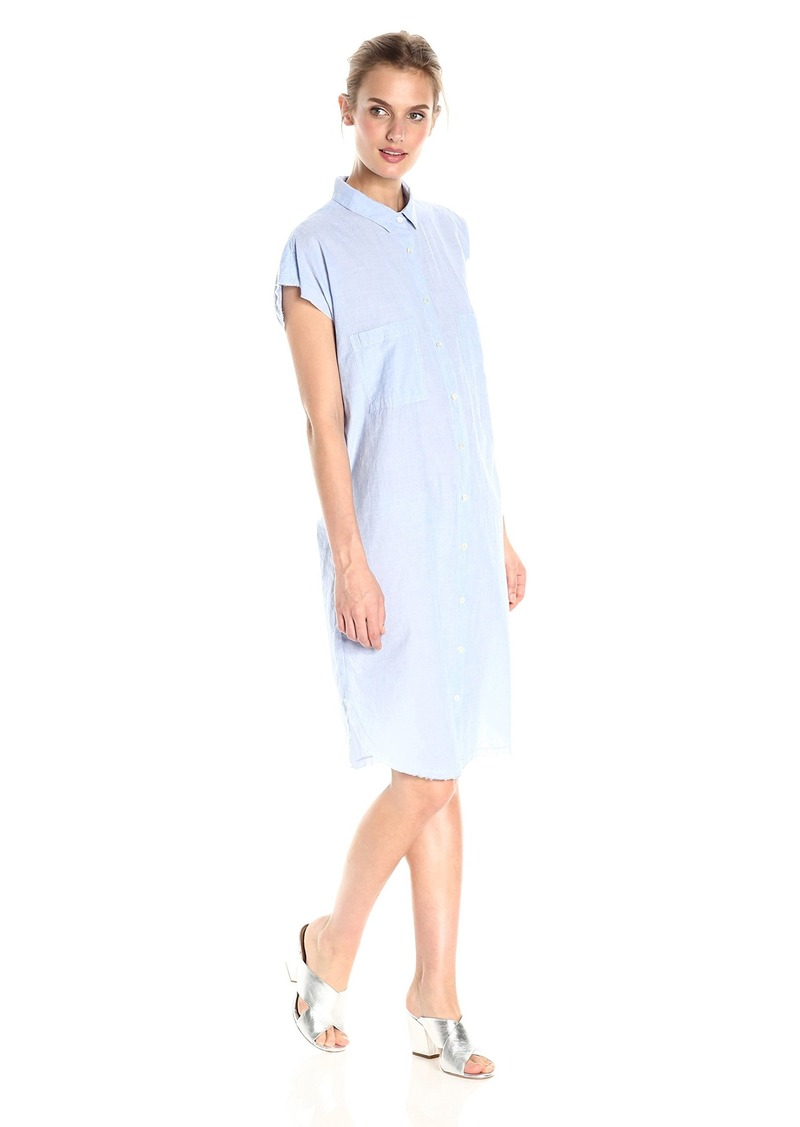 VELVET BY GRAHAM & SPENCER Women's Cotton Poplin Shortsleeve Shirtdress  XL