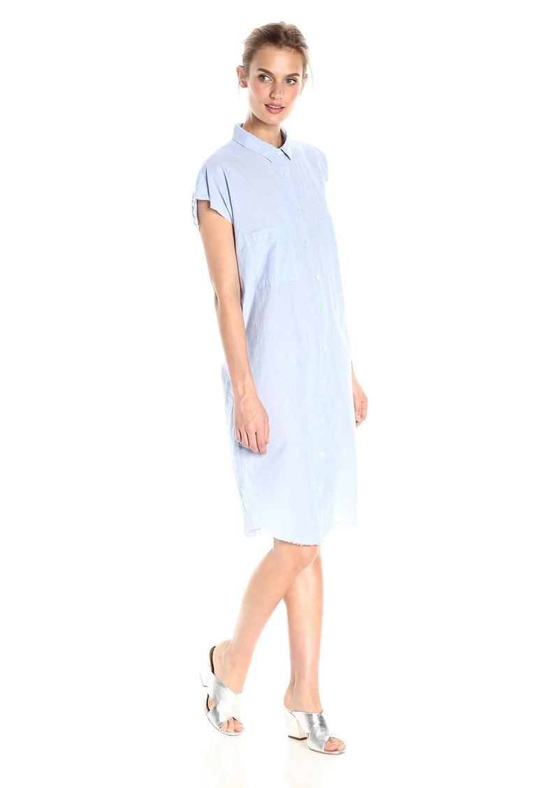 VELVET BY GRAHAM & SPENCER Women's Cotton Poplin Shortsleeve Shirtdress  XL