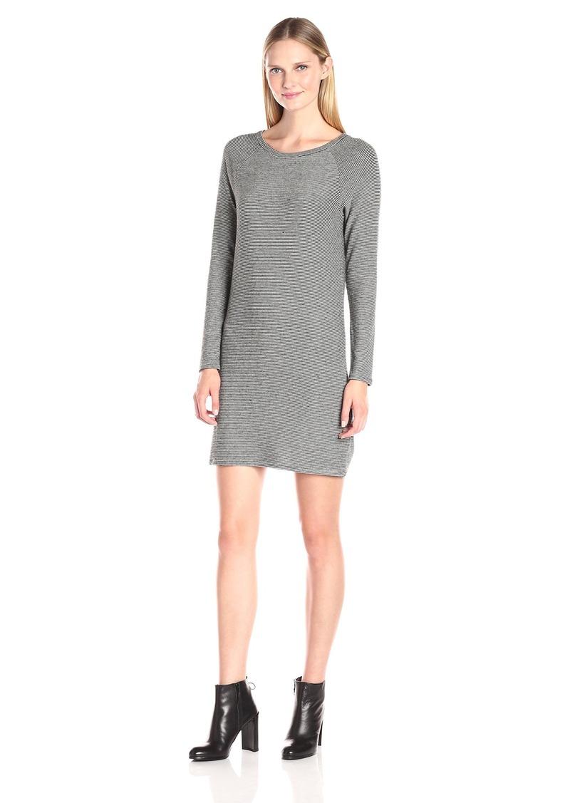 VELVET BY GRAHAM & SPENCER Women's Cozy Jersey Stripe Dress  S