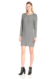 VELVET BY GRAHAM & SPENCER Women's Cozy Jersey Stripe Dress  XS