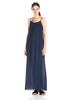 VELVET BY GRAHAM & SPENCER Women's Dobby Challis Maxi Dress