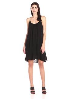 VELVET BY GRAHAM & SPENCER Women's Dobby Challis Slip Dress