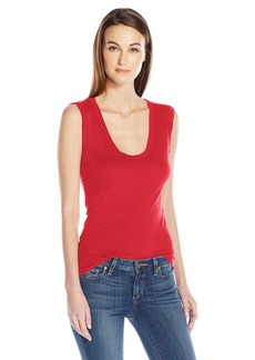 Velvet by Graham & Spencer Women's Estina Scoopneck Tank  S