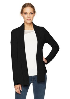 Velvet by Graham & Spencer Women's Fleece No Closure Cardigan  L