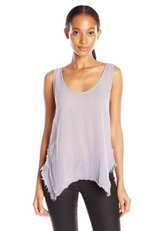 VELVET BY GRAHAM & SPENCER Women's Gauze Tank