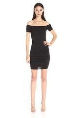 Velvet by Graham & Spencer Women's Gauzy Off The Shoulder Dress