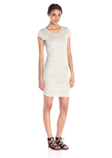 VELVET BY GRAHAM & SPENCER Women's Gauzy Whisper Cap-Sleeve Dress
