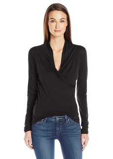 Velvet by Graham & Spencer Women's Meri Surplice top  XS