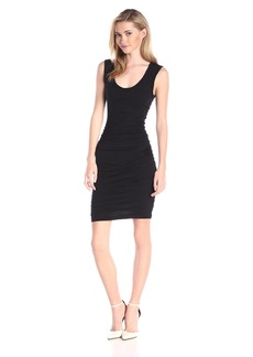 Velvet by Graham & Spencer Women's Gauzy Whisper Scoop Neck Tank Dress