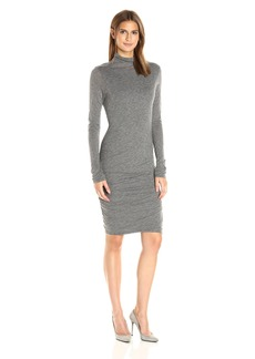 VELVET BY GRAHAM & SPENCER Women's Gauzy Whisper Turtleneck Dress  M