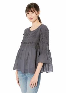 Velvet by Graham & Spencer Women's Hanae embellised Cotton Jacket  S