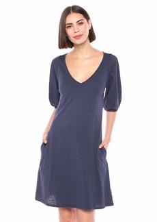 Velvet by Graham & Spencer Women's Ileana Cotton slub Dress  M