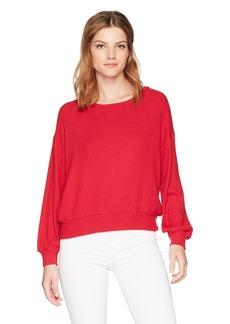 Velvet by Graham & Spencer Women's Jo Blouson Sleeve Pullover  S