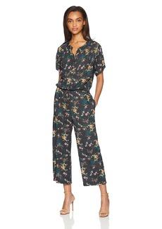 Velvet by Graham & Spencer Women's Joyce Floral Printed Chlaais Jumpsuit  M