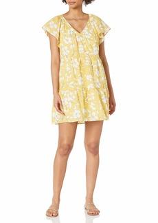 Velvet by Graham & Spencer Women's Kellie Printed Cotton Voile Dress