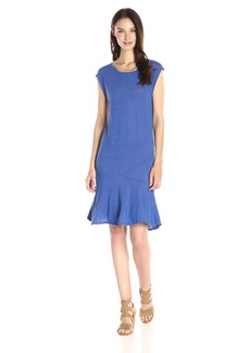 VELVET BY GRAHAM & SPENCER Women's Linen Drop Waist Dress