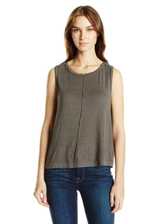 VELVET BY GRAHAM & SPENCER Women's Linen Knit Tank  S