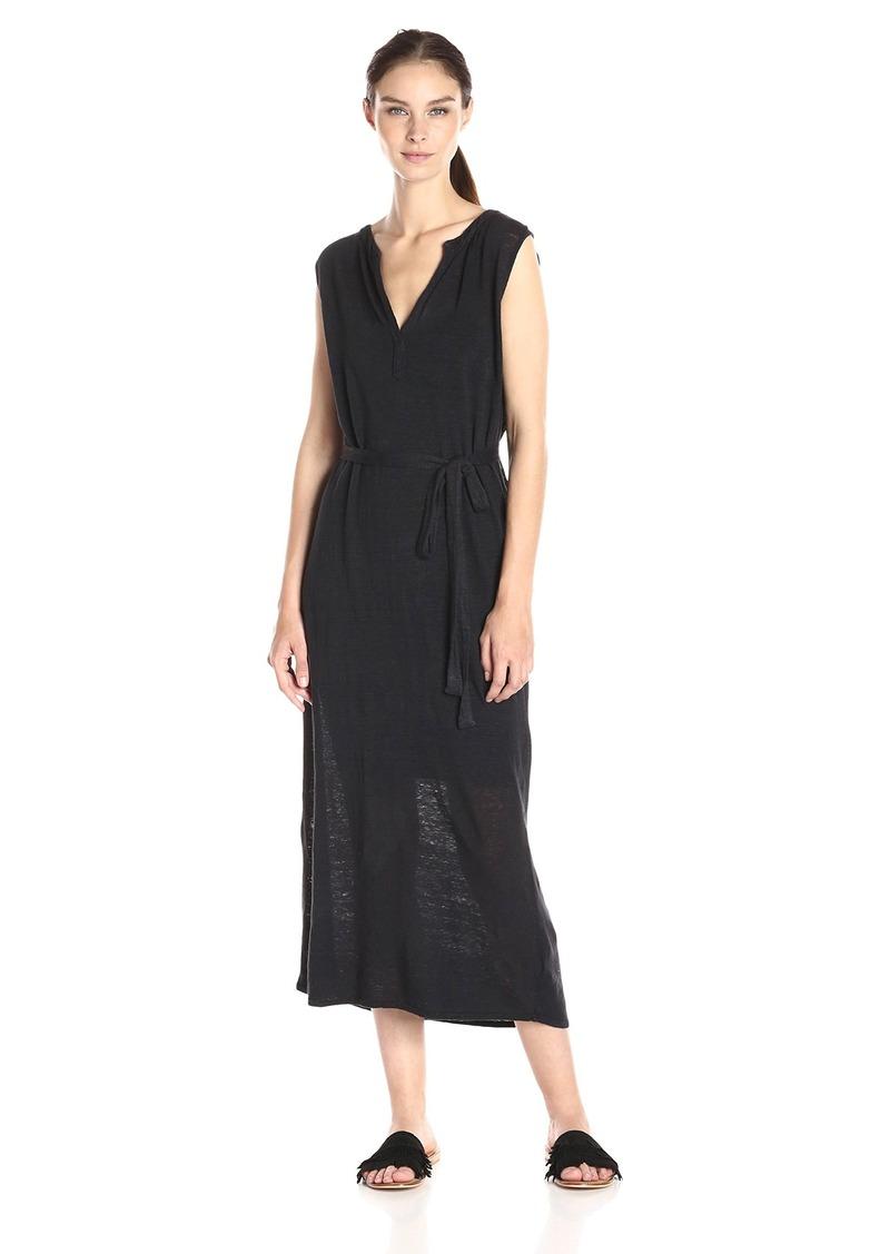 Velvet by Graham & Spencer Women's Linen Sleeveless Midi Dress