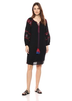 Velvet by Graham & Spencer Women's Loane Summer Embroideries Dress  S