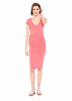 Velvet by Graham & Spencer Women's Loree Gauzy Whisper Novelty Dress  L