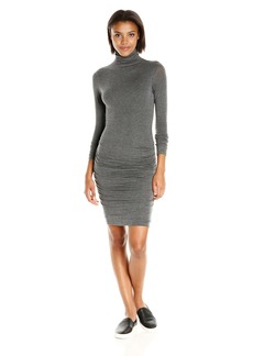 VELVET BY GRAHAM & SPENCER Women's Lux Gauze Turtleneck Dress  L