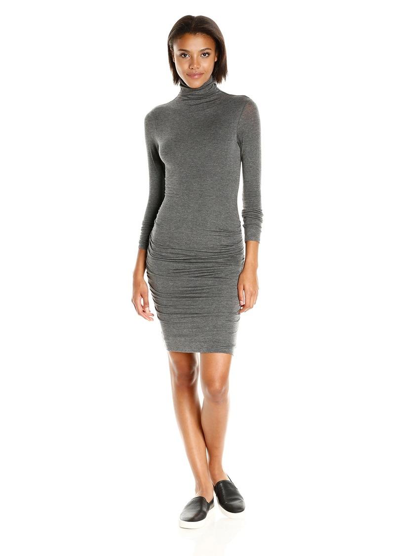Velvet by Graham & Spencer Women's Lux Gauze Turtleneck Dress  M