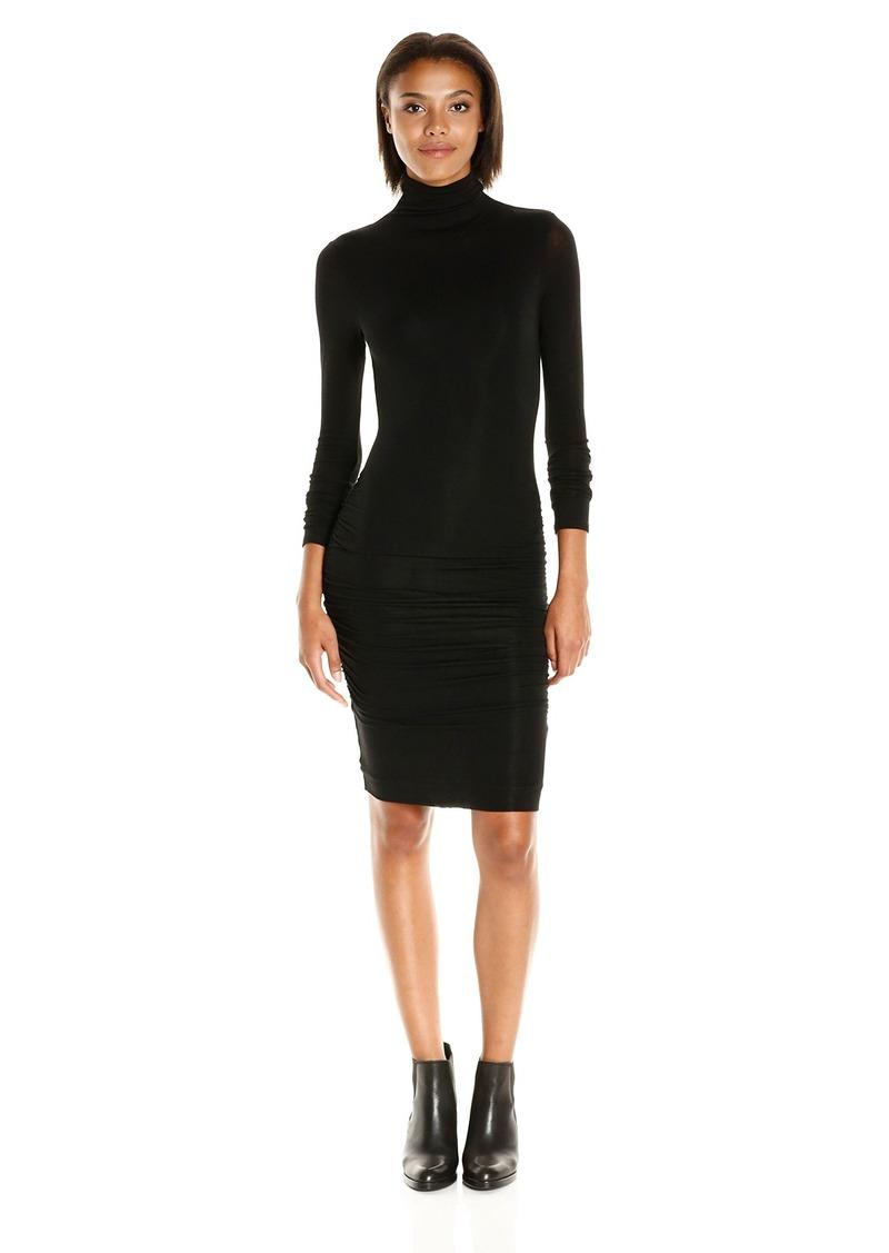 VELVET BY GRAHAM & SPENCER Women's Lux Gauze Turtleneck Dress  S