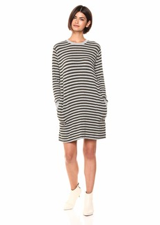 Velvet by Graham & Spencer Women's Mabel Cozy Stripe Dress  S