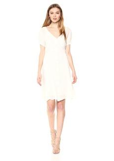 Velvet by Graham & Spencer Women's Malin Swiss Dot Dress  XS