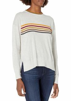 Velvet by Graham & Spencer Women's Melody Stripe Sweater  XL
