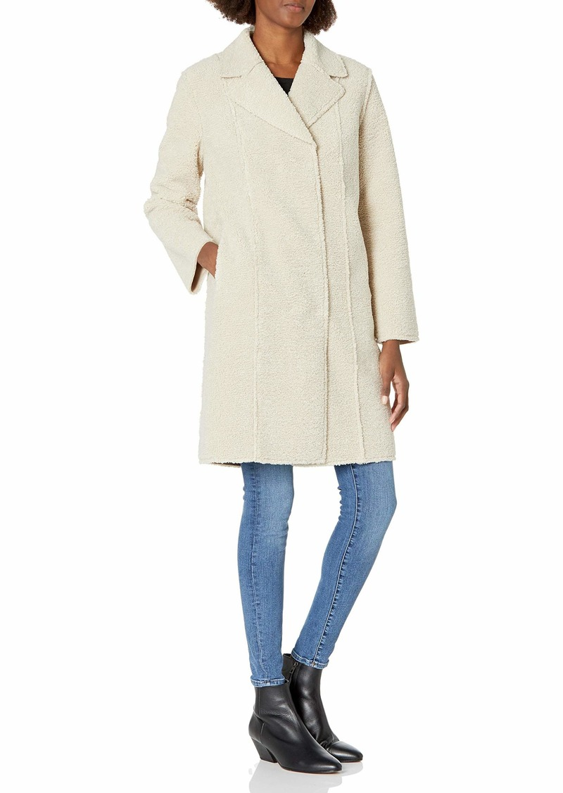 Velvet by Graham & Spencer Women's Meryl Faux Sherpa Coat  XL