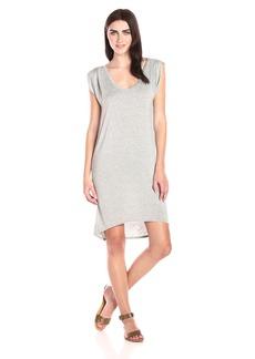 VELVET BY GRAHAM & SPENCER Women's Modal Knit Drape Side Dress