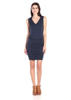 VELVET BY GRAHAM & SPENCER Women's Modal Knit Ruched Skirt Dress