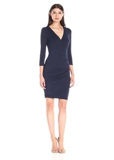 VELVET BY GRAHAM & SPENCER Women's Modal Knit Surplice Dress