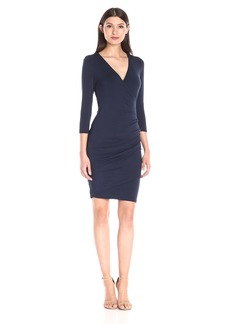 VELVET BY GRAHAM & SPENCER Women's Modal Knit Surplice Dress