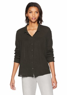 Velvet by Graham & Spencer Women's Monty Winter Gauze Shirt  M