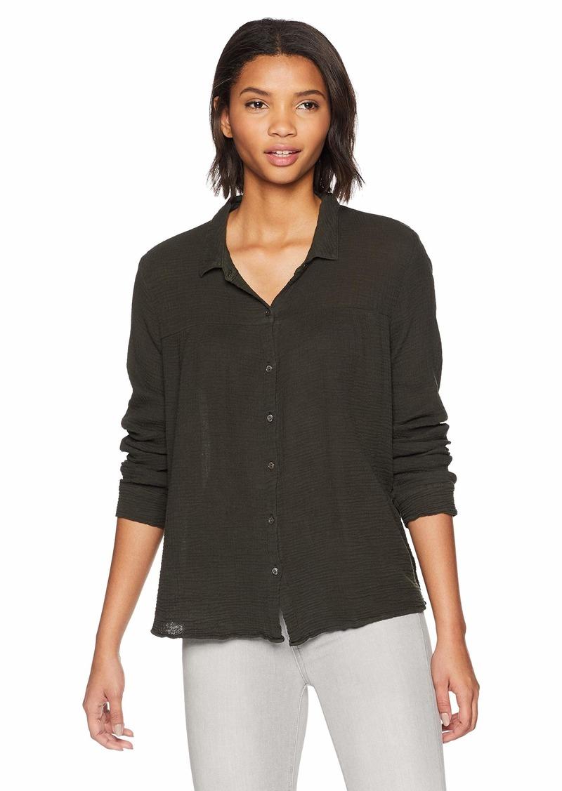Velvet by Graham & Spencer Women's Monty Winter Gauze Shirt  M