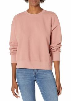VELVET BY GRAHAM & SPENCER Women's Nella Soft Fleece Sweatshirt TAFFY M