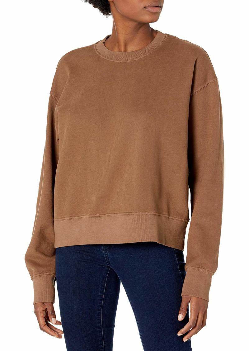 VELVET BY GRAHAM & SPENCER Women's Nella Soft Fleece Sweatshirt TIKI L