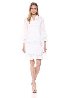 Velvet by Graham & Spencer Women's Nuria Cotton Lace Dress  M