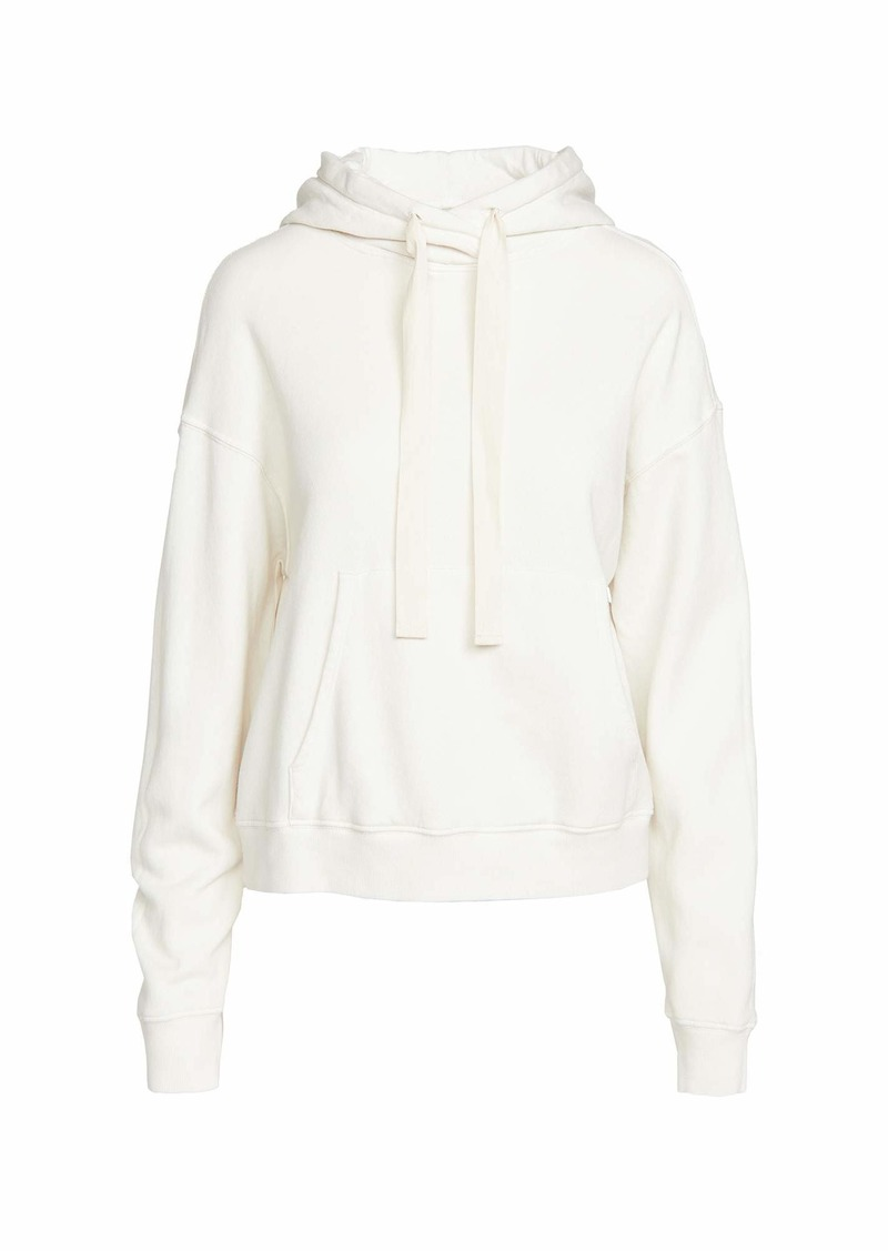 VELVET BY GRAHAM & SPENCER Women's Ojai Organic Fleece Hoodie BEACH L