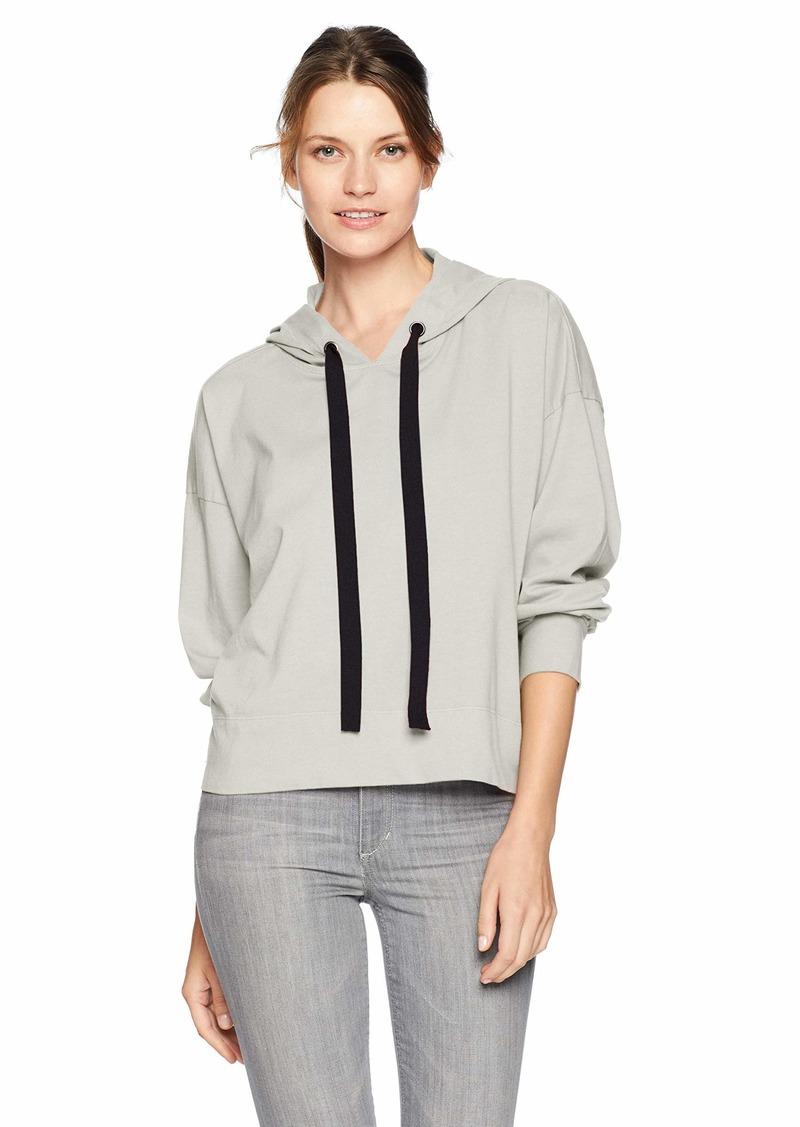 Velvet by Graham & Spencer Women's Pandora Structured Cotton Sweatshirt  XS