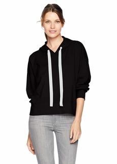 Velvet by Graham & Spencer Women's Pandora Structured Cotton Sweatshirt  L