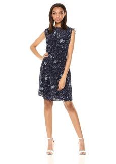 Velvet by Graham & Spencer Women's Raelynn Floral Print Dress  M