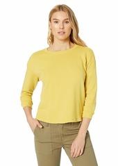 Velvet by Graham & Spencer Women's Roshelle Athleisure Vintage Terry Sweatshirt  XL