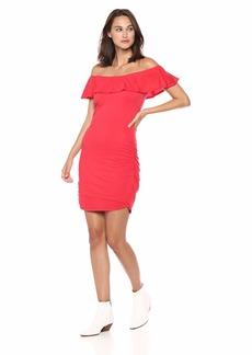 Velvet by Graham & Spencer Women's Serlina Gauzy Whisper Novelty Dress  M